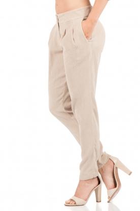 Hoss Intropia | Rib pantalon Sandra | sand