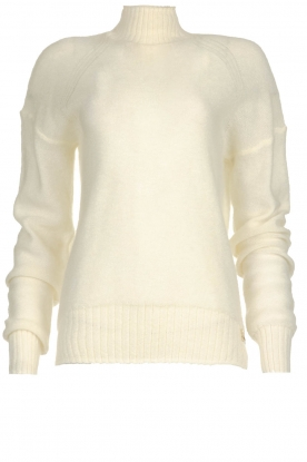 Patrizia Pepe |  Knitted turtle neck Bibi | natural