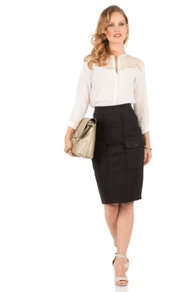 Pencil skirt Stacey | black