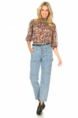 Look Top with print Janna