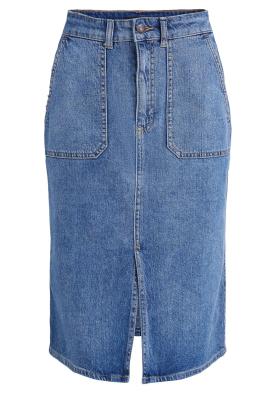 Set |  Midi denim skirt Remy | blue
