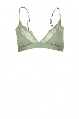 Love Stories |  Bralette Love Lace |  green