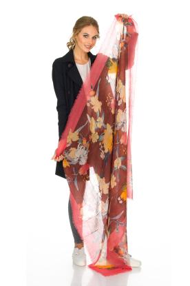 Becksöndergaard | Luxe sjaal Rosea | roze
