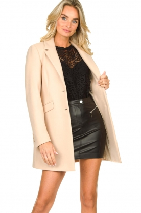 Kocca    Classic coat Anta   beige