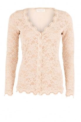 Lace cardigan Paris | taupe