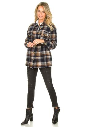 Look Checkered coat Krugi