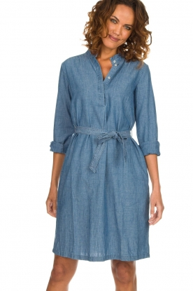 Set |  Denim dress Maeve | blue