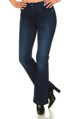 Patrizia Pepe |  Flared jeans Stella | blue