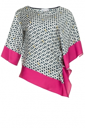 Patrizia Pepe | Blouse with print Amanda | multi