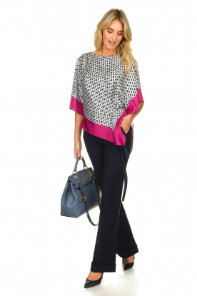 Look Blouse with print Amanda