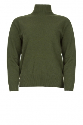 Kocca | Knitted sweater Mister | green