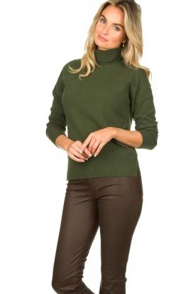 Kocca |  Knitted sweater Mister | green