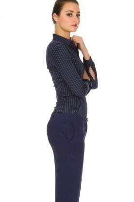 Patrizia Pepe | Bodyblouse Esra | donkerblauw