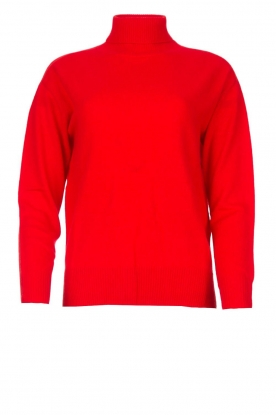 Kocca |  Knitted sweater Mister | red