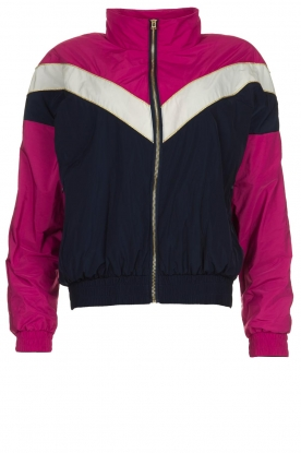 Patrizia Pepe |  Sporty jacket Lana | blue