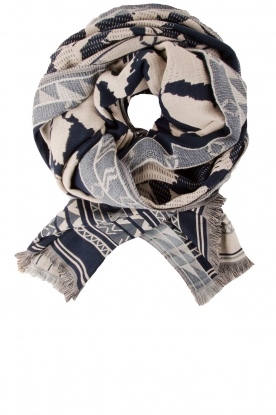 Scarf Cloudy | blue