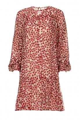Munthe |  Dress with print Joelle | red