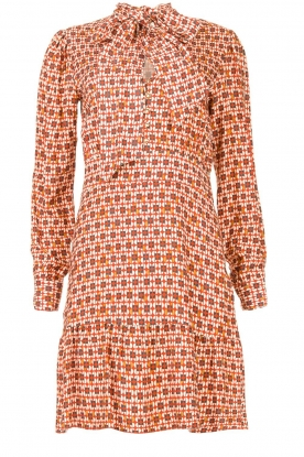 Kocca | Dress with print Ris | red