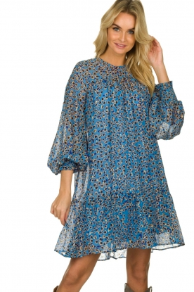 Munthe |  Dress with print | blue