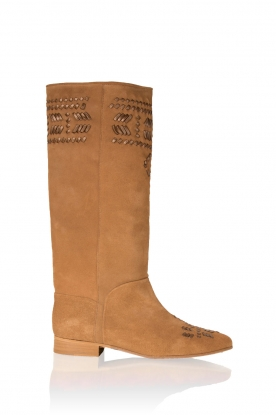 Suede boots Indian | brown