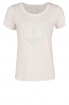 Juvia | T-shirt Beach Club | wit