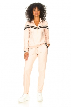 Liu Jo Sport |  Sweatpants with glitters Teanna | pink