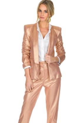 Patrizia Pepe | Blazer Golden Blush | roze
