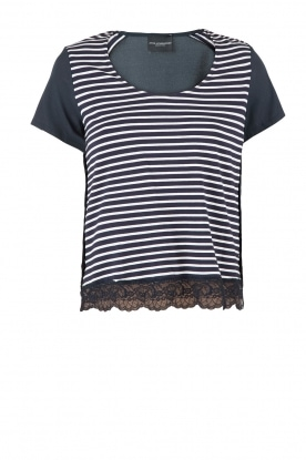 Top Susan | dark blue