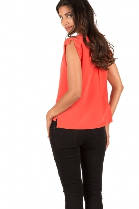 Silk top Roanne | pink