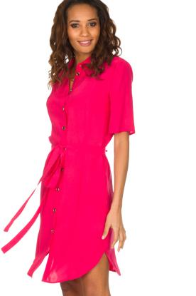 Patrizia Pepe | Jurk met kraag Donna | roze