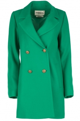 Essentiel Antwerp |  Woollen coat Obiwan | green