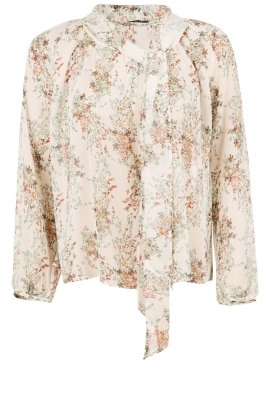IKKS | Bow tie blouse Michel | print