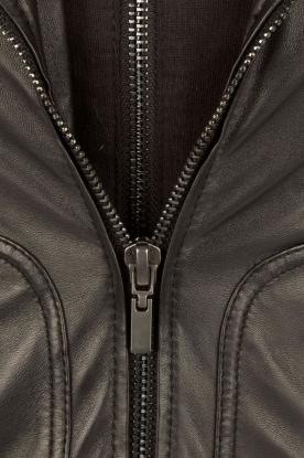 Arma | Leren bikerjas Preto | zwart