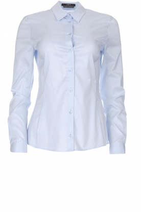 Set |  Classic basic blouse Andy | blue