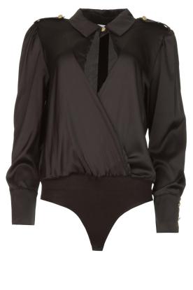 Silvian Heach |  Body blouse Dinosaurus | black