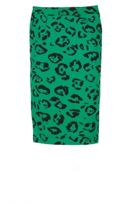 Essentiel Antwerp |  Pencil skirt Oclock | green