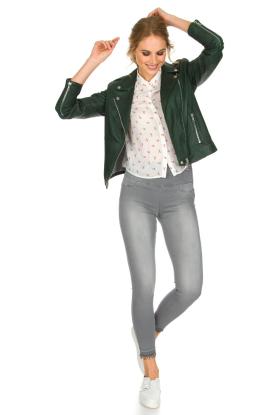 Patrizia Pepe | High waist jeans Sevella | grijs