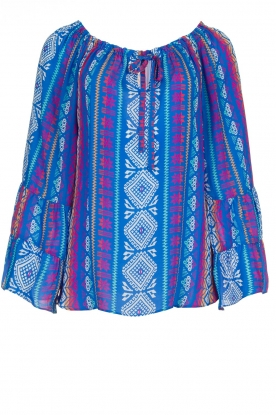 Alice & Trixie | Printed top Giselle | blue