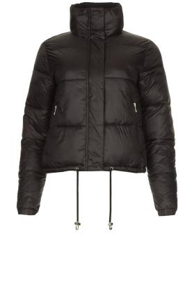 Silvian Heach |  Short down coat Calcutta | black