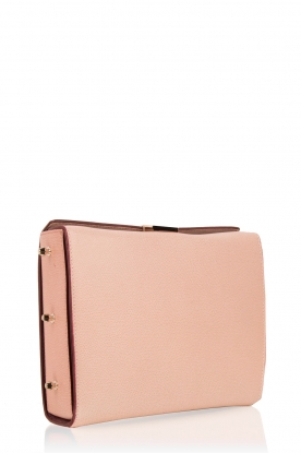 Furla |  Leather shoulder bag Electra M | old pink