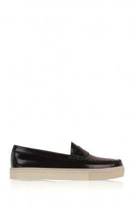 G.H. Bass & Co. | Leren loafers Weejun Cup Penny | zwart