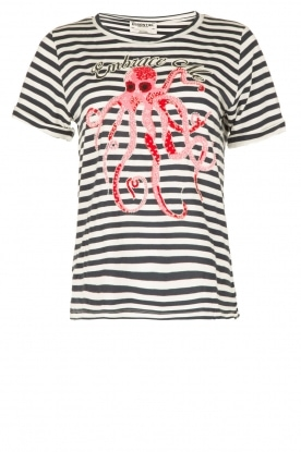 Essentiel Antwerp |  T-shirt Occasio | blue