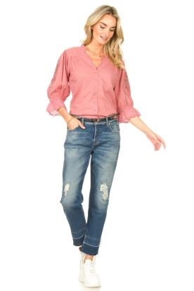 Look Broderie blouse Charlie