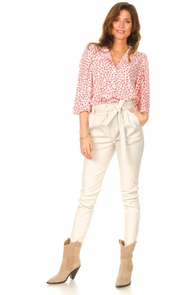 Look Blouse with floral print Frankie