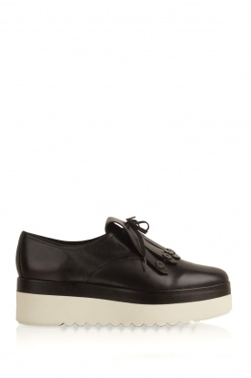 What For |  Suede platform derby Arthur | black