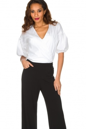 Patrizia Pepe | Body blouse Camica | wit