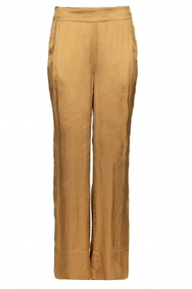 Rabens Saloner | Trousers Jami| brown