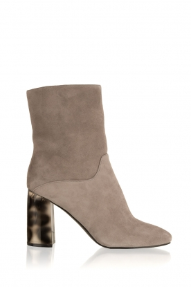 What For |  Suede ankle boots Romain | grey