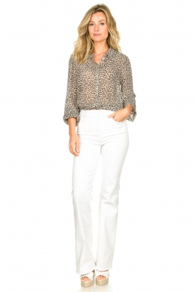 Look Leopard print blouse Julie