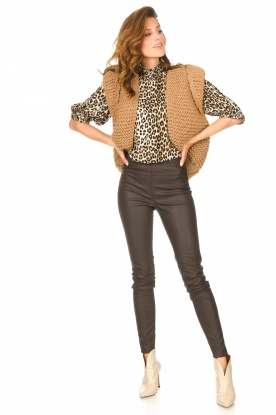 Look Top with animal print Bobby